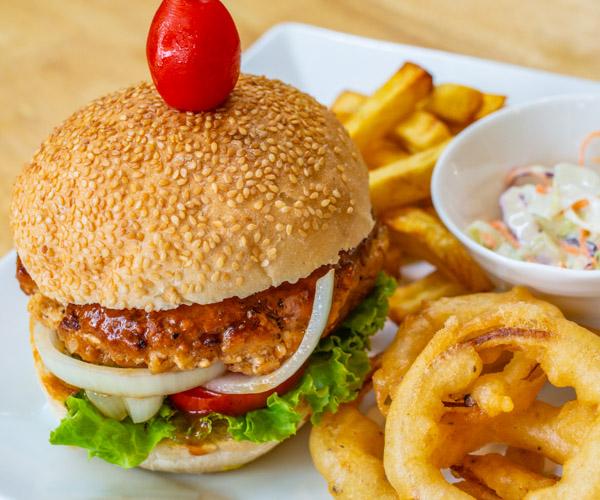Green Go Vegan Lok Lak Burger