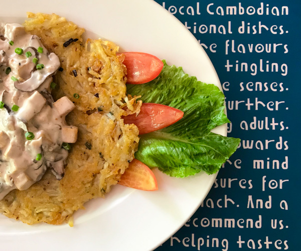 Haven Siem Reap vegan food