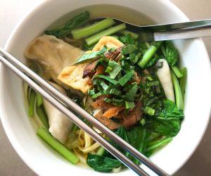 Kang Le noodle dumplings