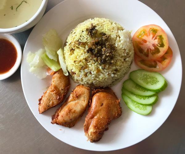 Kang Le vegan chicken