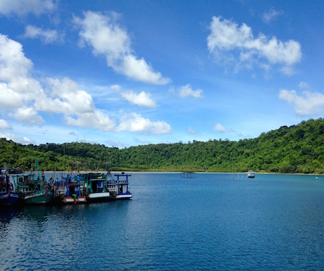 Upon arrival on Koh Kood we were presented with the blue skies and lush jungle we had hoped for.