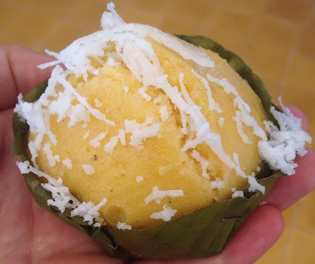 vegan akor cake in Cambodia