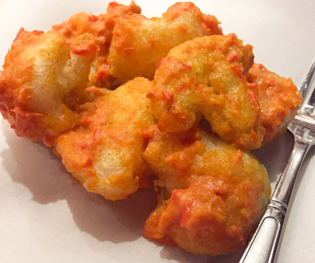 cauliflower Buffalo wings at Moringa in Siem Reap
