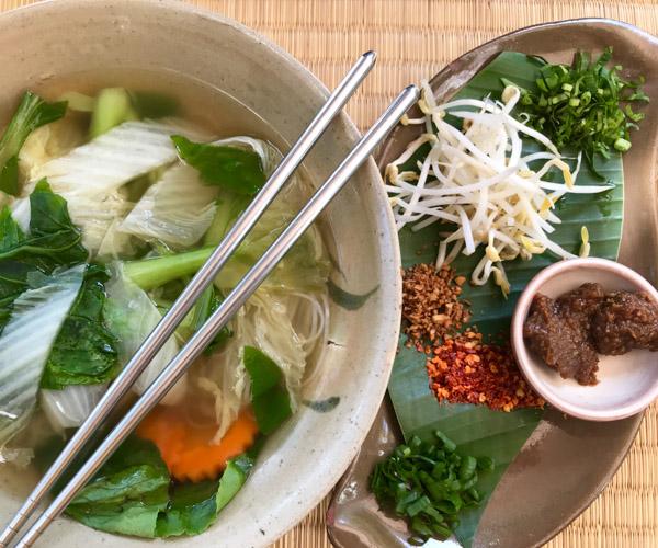 New Leaf Noodle Soup