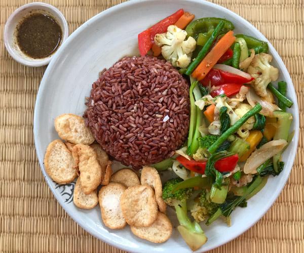 New Leaf vegan food