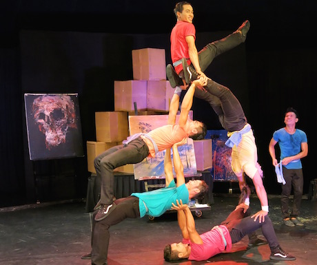 Phare Circus doing their thing...