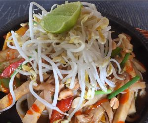 vegan pad Thai at Banlle in Siem Reap