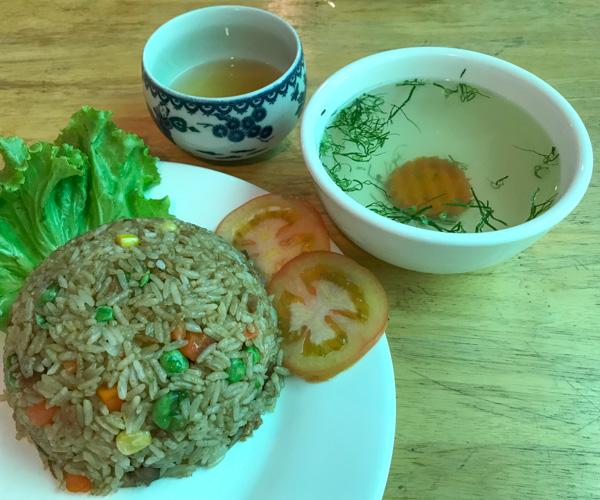 Zhu Lin Xuan Vegetarian Food 1
