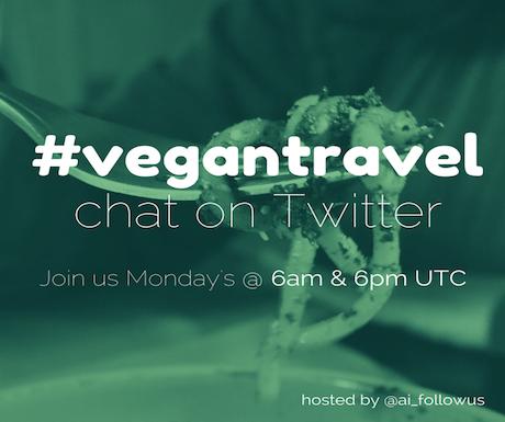 #vegantravel chat