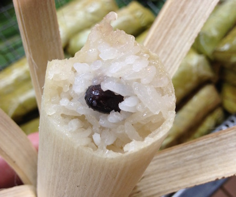 krolan rice in Bamboo