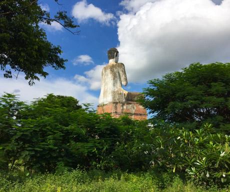 buddha statue in Battambang on countryside tour
