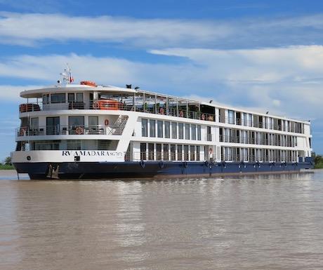 AmaDara Mekong river cruise boat