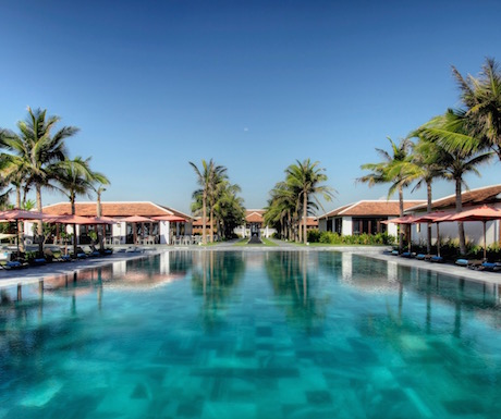The wonderful pool at Fusion Maia Danang.