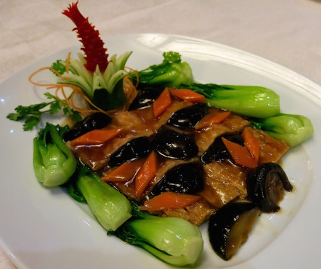 vegan vegetarian Cantonese dining at Sheraton Saigon Hotel and Towers