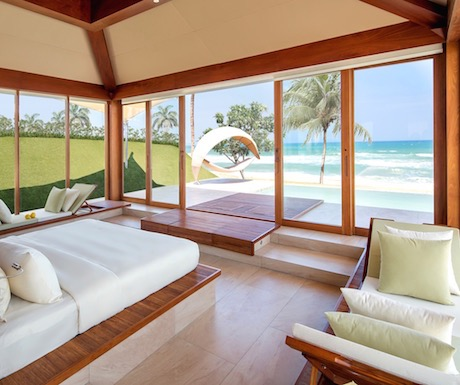 ultra luxury ocean front pool villa at Fusion Resort Nha Trang