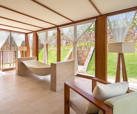 Seriously cool bath tubs at Fusion Resort Nha Trang.