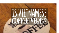 Is Vietnamese coffee vegan featured image