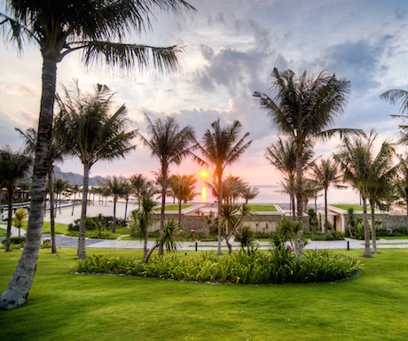 Mia Resort is set amongst beautifully manicured gardens.