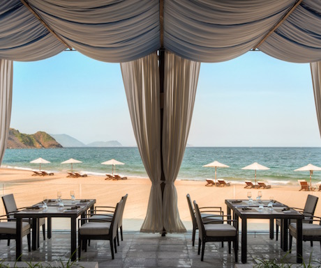 Sandals Restaurant is situated overlooking the beach and offers guests tables indoors or 'al fresco' where you can enjoy the views.