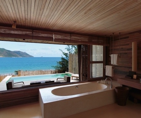Our luxury duplex including our very own 'bath with a view'