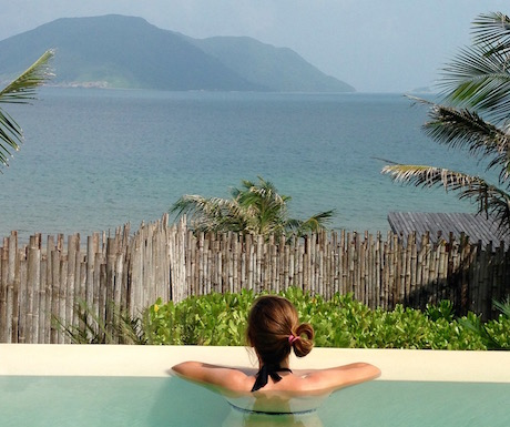 Daydream in your own pool at Six Senses Con Dao.