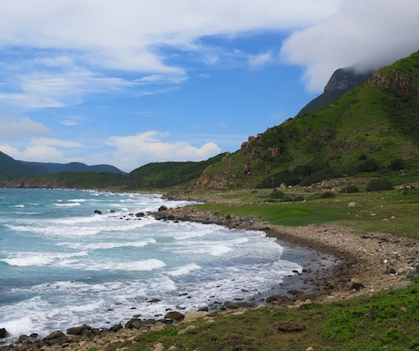 Breathtaking scenery on Con Dao