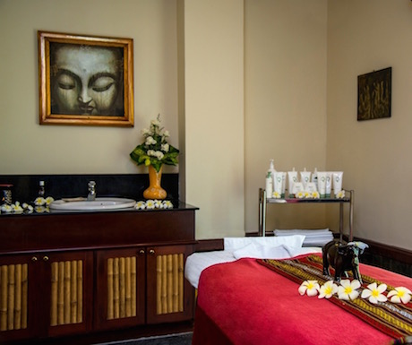 Enjoy a relaxing massage after a long day of sightseeing.