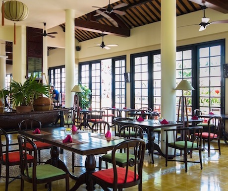 L'Annam all day dining restaurant at Victoria Hoi An Beach Resort