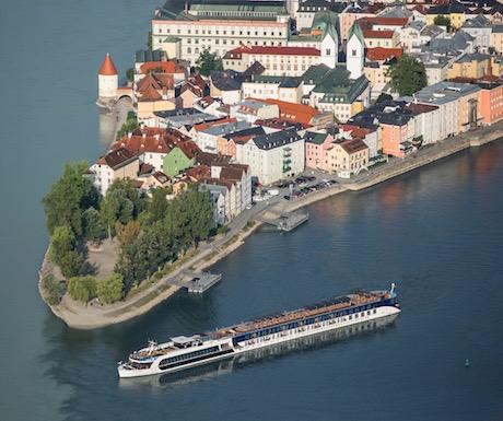 AmaPrima on the Danube River.