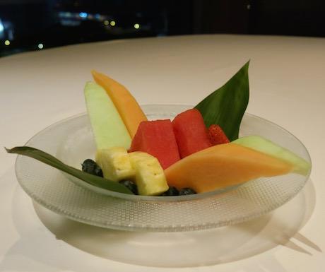 Seasonal Fresh Fruit at Lung King Heen.