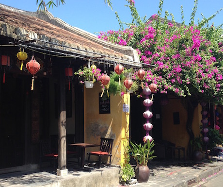 Pretty streets in the UNESCO World Heritage Site of Hoi An Ancient Town