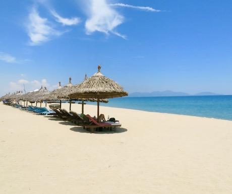 picture perfect An Bang beach near Hoi An