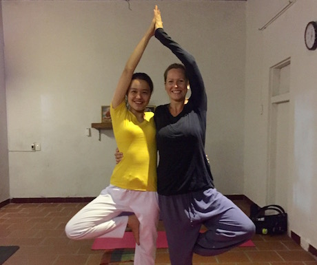 yoga with Jyoti at Annen in Hoi An