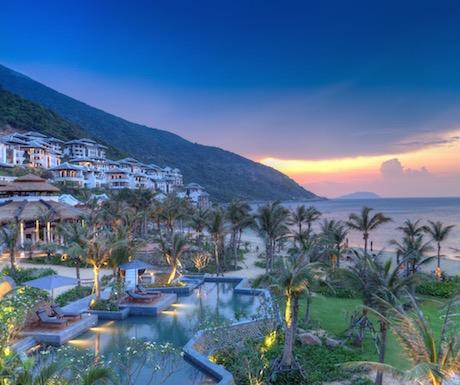 the incredible InterContinental Danang Sun Peninsula Resort