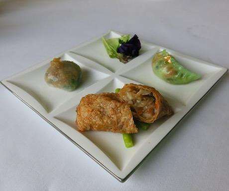 vegan fine dining at Yan Toh Heen