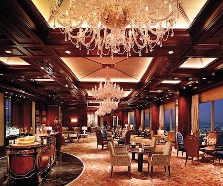 Horizon Club Lounge at Island Shangri La.