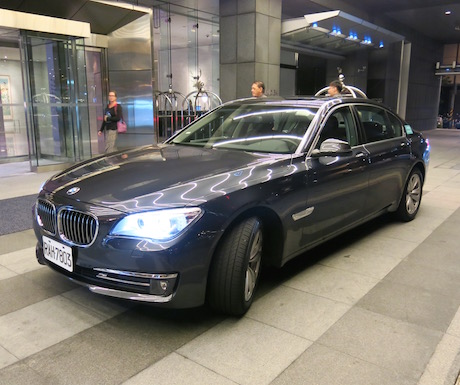 luxury airport transfer to Le Meridien Taipei