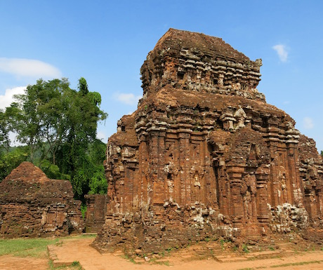 My Son temples near Hoi An