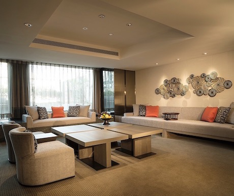 luxury garden suite at Regent Taipei