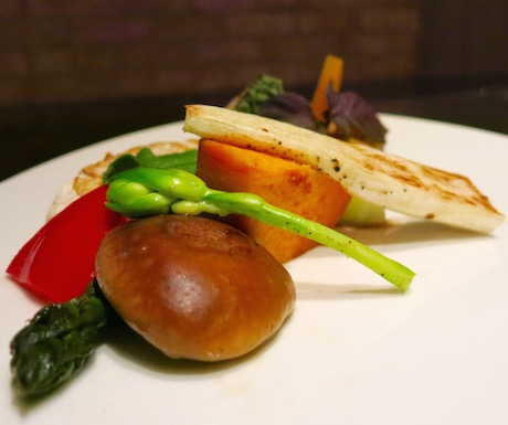 Even vegans can enjoy the theatre f the Teppanyaki Grill at Regent Taipei.