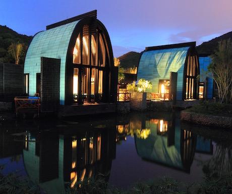 Spa Lagoon Villa - Exterior