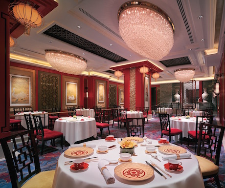 The main dining room at Shang Palace.