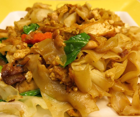 Pad see ew is a filling, comforting and cheap food to seek out.