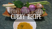 Cambodian Vegan Curry Recipe Featured Image