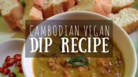 Cambodian Vegan Dip Recipe Featured Image