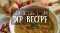 Cambodian Vegan Dip Recipe Featured Image