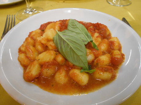 Vegan Italian Food - Gnocchi di patate from from Lazio