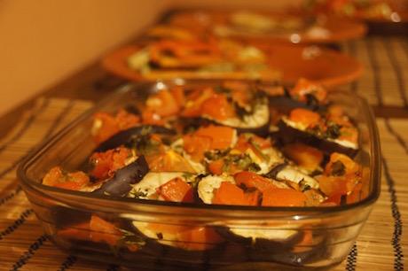 Vegan Italian Food - Melanzane alla sarda from Sardegna (Sardinia)