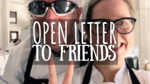 Open Letter to Friends featured image