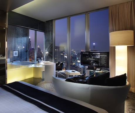 modern and well appointed So Lofty Suite at Sofitel So Bangkok